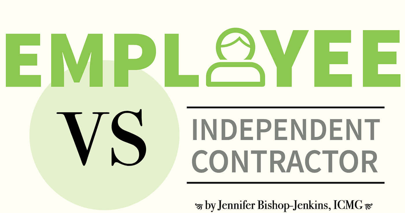 independent contractor or employee What's the difference between employee and independent contractor an employee works directly for a company or another person and answers to.