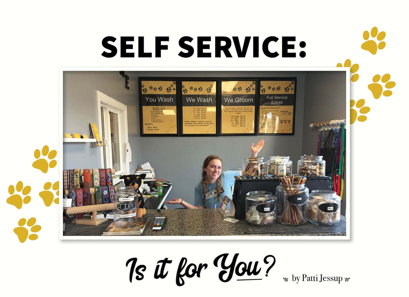 Self service is it for you groomer to groomer pet grooming self service is it for you groomer to groomer pet grooming news stories and videos solutioingenieria Gallery