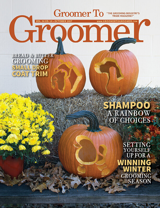 October 2017 Groomer to Groomer Cover