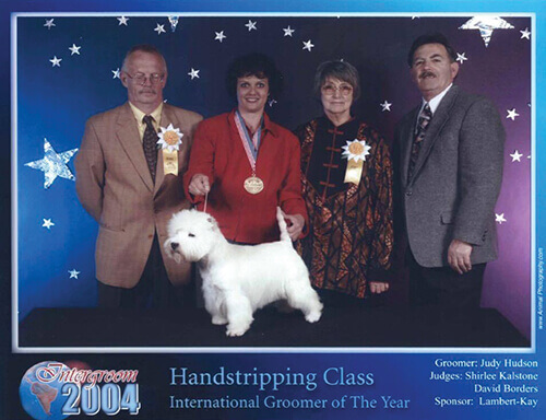 2004 Handstripping Class International Groomer of The Year
