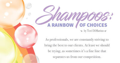 shampoo rainbow bubbles