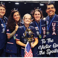 Groom Team USA Wins The Gold!