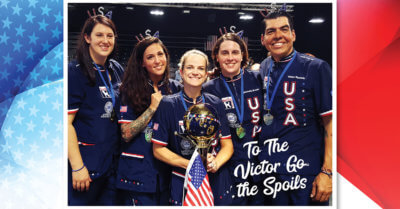 Groom Team USA Wins The Gold!
