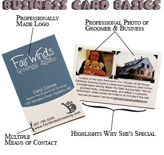 Are Business Cards A Thing Of The Past Groomer To Groomer