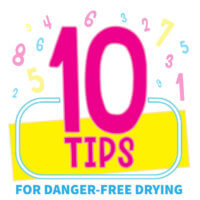 10 Tips for Danger Free Drying
